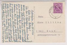 Bizone/AM-Post, Mi. 7, EF, Rutesheim/Württ., 26.5.46
