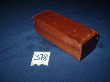 Mahagoni Messergriff Messergriffblock Edelholz   120 x 42 x 37 mm    Nr. 378