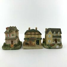 Vintage 90s Liberty Falls Miniature Village Lot of 3 Houses Americana Collection