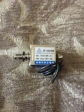 JF-0826B DC12V 350mA 5N/20mm Pull-Push-Type Solenoid Electromagnet