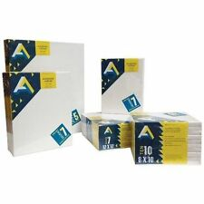 Painting Canvas Set Blank Art Supplies 5 Pack 16x20 Oil Acrylic Alkyd Paint New