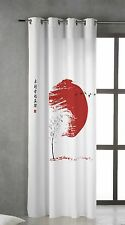 TSUKI HINATA Cortina japonesa con ojales metálicos 150x260 / Japan Curtains