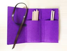 3L New Felt Pen Curtain Sketch Holder Fashion Purple Painting Art Drawing Bag