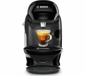 TASSIMO by Bosch Style TAS1102GB Automatic  Hot Drinks Coffee Machine Black