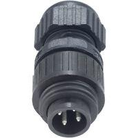 Hirschmann 934 124-100 CA 3 LS CA Series Straight Cable Plug 3 + PE