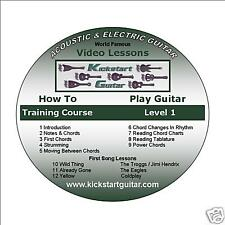 2 DVDs Beginner  Fast Course Level 1 and 2 (Left Hand)