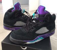 dc0f327711c842 Air Jordan 5 V Black Grape Purple Green Blue 9 Retro 3 6 7 1 Bred