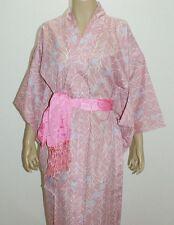 Japanese Kimono (pink) polyester100%  & Obi 100% silk #435