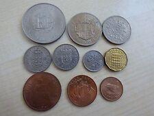 Elizabeth II Pre-Decimal Coin Set/ Collection Crown Half Crown Penny Farthing 3D