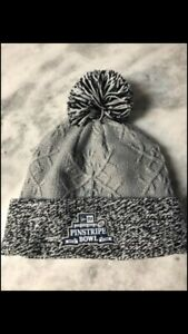 New Women's Pinstripe Bowl NY New York Yankees New Era Gray/Grey Winter Hat