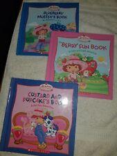 2005 Hardback Strawberry Shortcake Crafts Club Books Set Of 3 Books