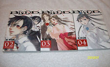 Blood + manga Volumes 2-4 Asuka Katsura Mint condition