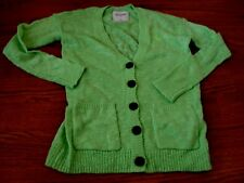 Girls~ABERCROMBIE~Floresence Green Knitted Button Down Cardigan Sweater Size S
