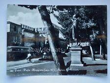 FANO Porta Maggiore AUTOBUS BUS Pesaro vecchia cartolina