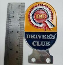 VINTAGE BMC DRIVERS CLUB BADGE MINI COOPER BEAN