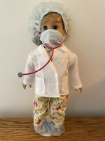 BUTTERFLY DOCTOR OUTFIT 8 PIECE SET FITS  AMERICAN GIRL DOLL ADORABLE