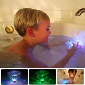 Underwater Hot Tub RGB Colorful LED Floating Bath Lights Lazy Spa Disco Lamp