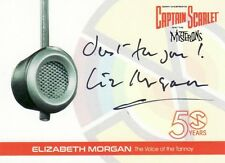 Captain Scarlet 50 Rare Liz Morgan EM4 Auto Card Unstoppable Cards 1 of 36