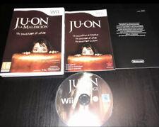 JU-ON LA MALDICION - NINTENDO WII - PAL ESPAÑA - JUON JU ON