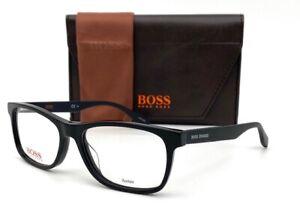 Boss Orange BO0319 807 Black  / Demo Lens 52mm Eyeglasses