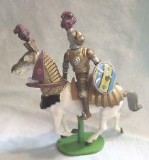 Vintage 1992 Britains Ltd. Mounted Jousting Knight