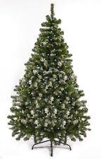 Christbaum Weihnachtsbaum künstlich 120 cm künstlicher Tannenbaum Schnee mit LED