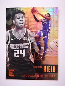 Panini Essentials 2017-18 card carte NBA Sacramento Kings #67 Buddy Hield