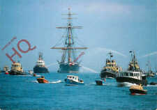 Picture Postcard::HMS WARRIOR, RETURNING TO PORTSMOUTH, 1987
