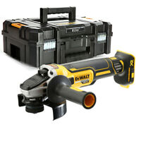 Dewalt DCG405 18V XR Brushless Cordless 125mm Angle Grinder +T-STAK Case & Inlay