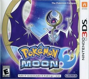 Pokemon Moon 3DS Game Only