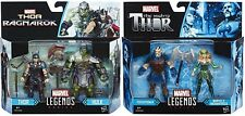 "MARVEL LEGENDS AVENGERS THOR RAGNAROK 3.75"" HULK,EXECUTIONER,ENCHANTRESS SET"