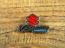 "SUZUKI V-STROM MOTORCYCLE VEST PIN ~1-1/8""x 6/8 LAPEL HAT BADGE TIE BROCHE BIKER"