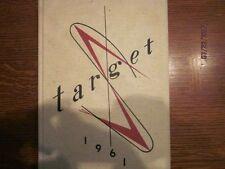 1961  Mount Pleasant (Iowa) High School Target Yearbook Annual - Excellent!