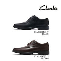Clarks Un Kenneth Way Leather Men Casual Lace Up Oxford Derby Dress Shoes Pick 1