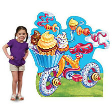 CANDY TRICYCLE Candy Land CARDBOARD CUTOUT Standee Standup Poster FREE SHIPPING