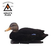Avian-X 8103, TopFlight Oversized Flocked Foam-Filled Black Duck Decoys 6 Pack