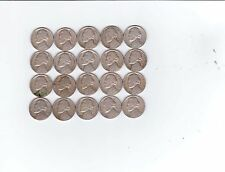 20 1948-D Jefferson Nickels.  All Readable Dates