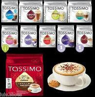 TASSIMO T Discs Capsules Pods - CHOOSE from 40 FLAVOURS pick&mix