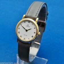 Women's Quartz (Battery) Solid Gold Case OMEGA Wristwatches
