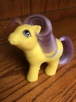 VINTAGE MY LITTLE PONY FIRST TOOTH BABY NIGHT CAP 1987 YELLOW HONG KONG