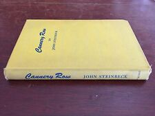 Cannery Row by John Steinbeck 1945,1st Ed. Printing Yellow Boards Viking HC WW2