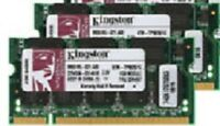 KINGSTON :::>  2GB PC2700 DDR LAPTOP MEMORY 333 mhz Notebook RAM dell hp 2 x 1gb