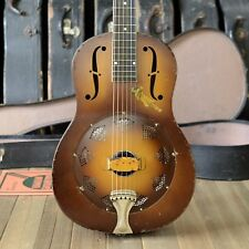 1930 National Triolian Resonator Guitar original cone, neck reset & refret