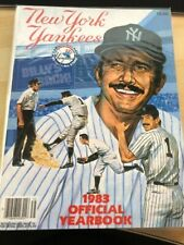1983 NEW YORK YANKEES Yearbook BILLY MARTIN Poster MATTINGLY #46 - MINT