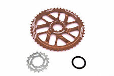 Relic 48T Final Gear Upgrade Kit for Shimano 11 Speed - 11/42T Cassette - Bronze