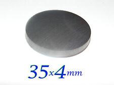 10 pezzi 35x4mm MAGNETI FERRITE DISCO STRONG  Y30BH MAGNETE  FIMO CERAMICA