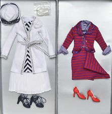 Tonner Deja Vu  Thoroughly Modern & Crisis Calm  OUTFITS & ACCESSORIES  NEW