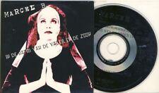 Marcel B. in de naam van de Fener en de ZOON MAXI CD CARDSLEEVE