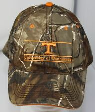 Vintage Tennessee Vols Camo Hat The Game Split Bars Volunteers Strapback Cap