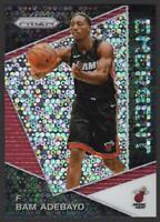 2017-18 Panini Prizm Emergent FAST BREAK #14 Bam Adebayo RC Rookie Miami Heat